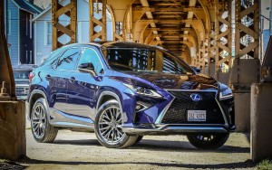 2016 Lexus RX 450h Sport wallpaper