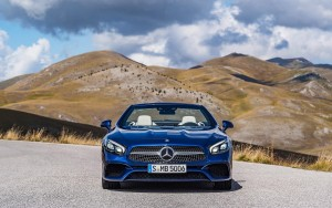 2016 Mercedes Benz SL500 HD wallpaper for PC