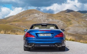 2016 Mercedes Benz SL500 rear lights HD pic