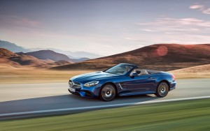 motion 2016 Mercedes Benz SL500 wallpapers 1080p