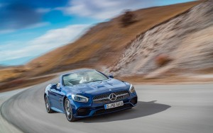 speed 2016 Mercedes Benz SL500 High Resolution wallpaper