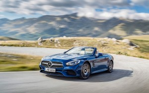 landscape 2016 Mercedes Benz SL500 HD photo