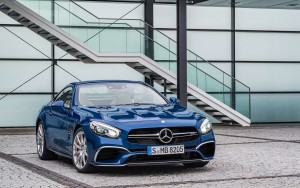 front 2016 Mercedes Benz SL500 front new 2016 picture