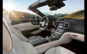 2016 Mercedes Benz SL500 interior for Desktop