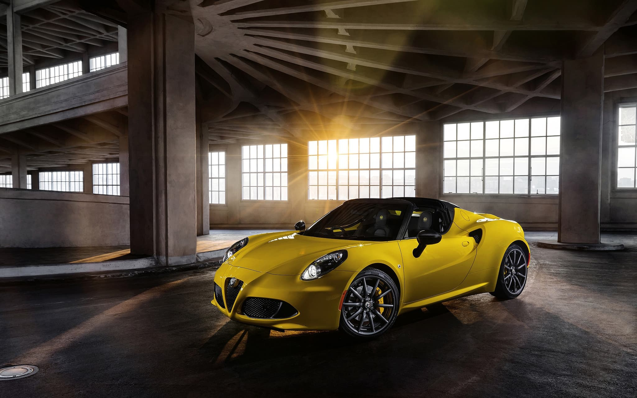 2016 alfa romeo 4c spider wallpapers hd high resolution download. Black Bedroom Furniture Sets. Home Design Ideas