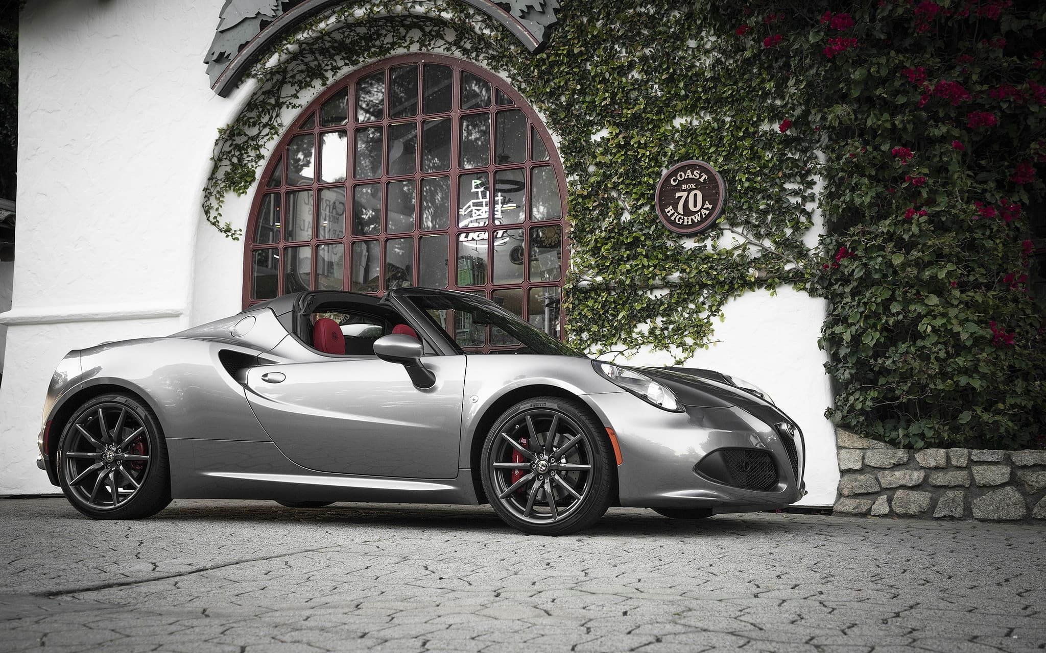 2016 Alfa Romeo 4c Spider Wallpapers Hd High Resolution Download