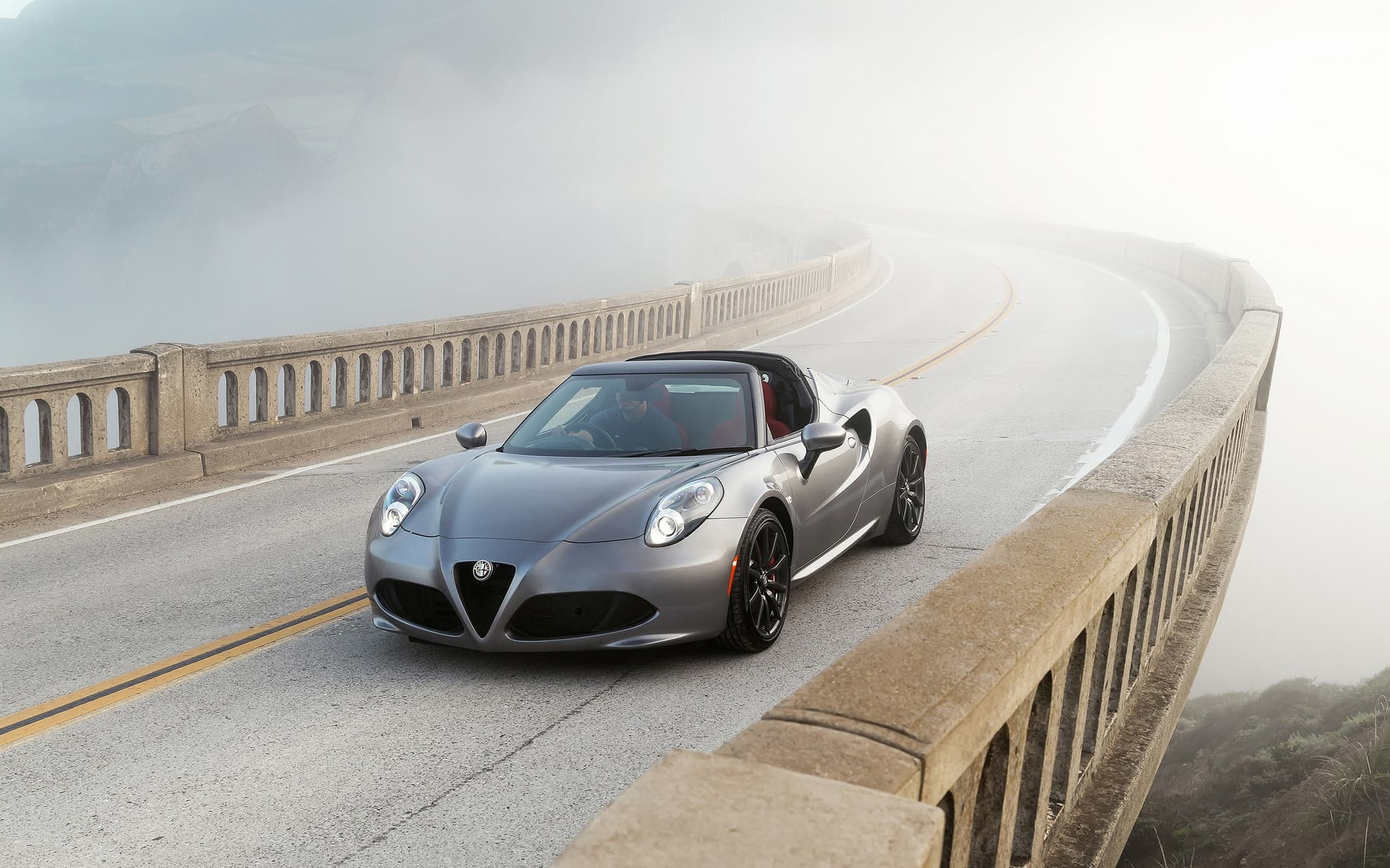 2016 Alfa Romeo 4C Spider 4k for Desktop