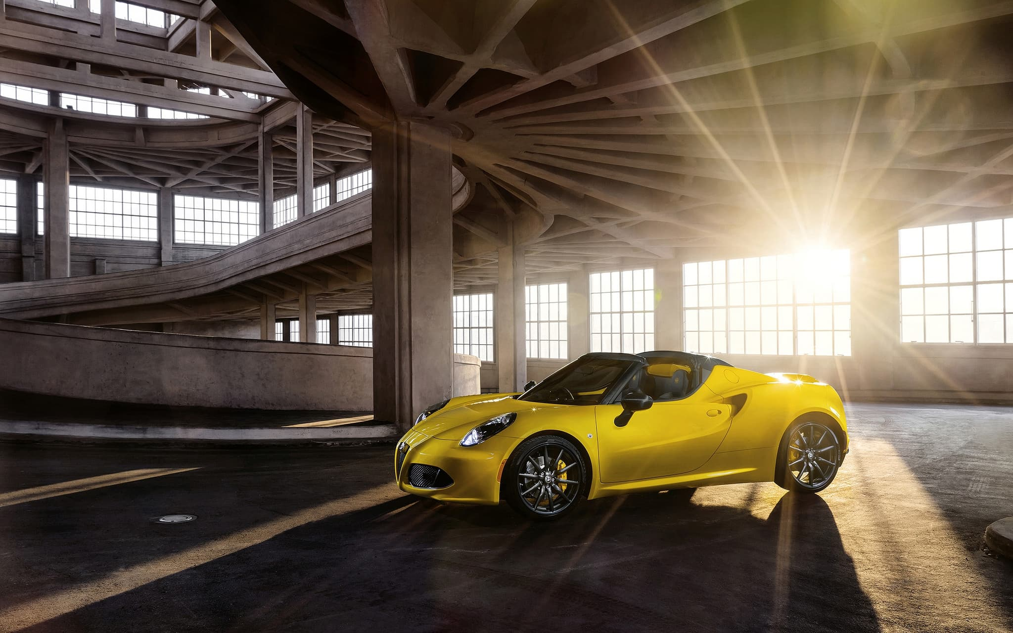 2016 Alfa Romeo 4C Spider 1920x1080p wallpaper