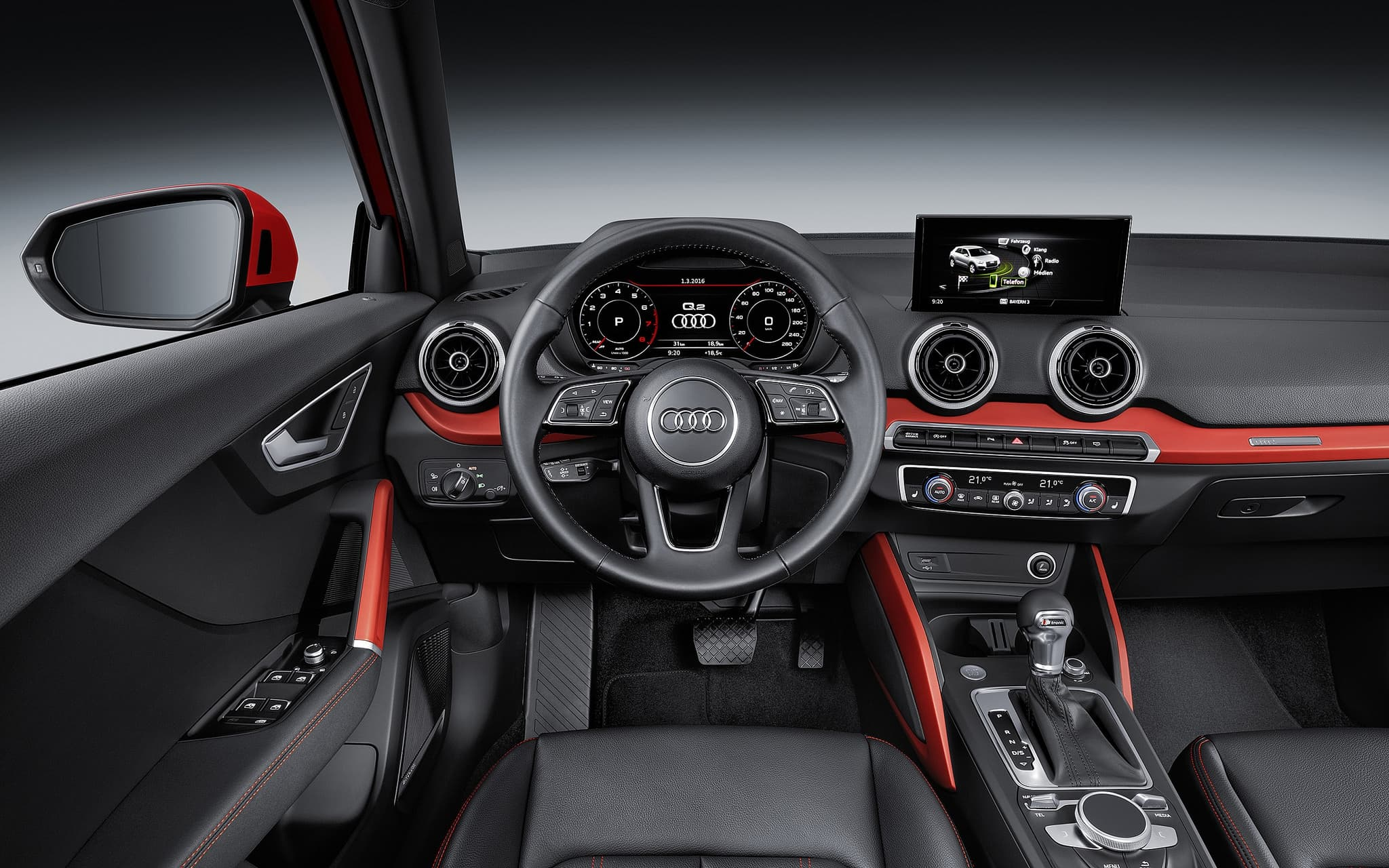 2016 Audi Q2 TFSI interior HD photo