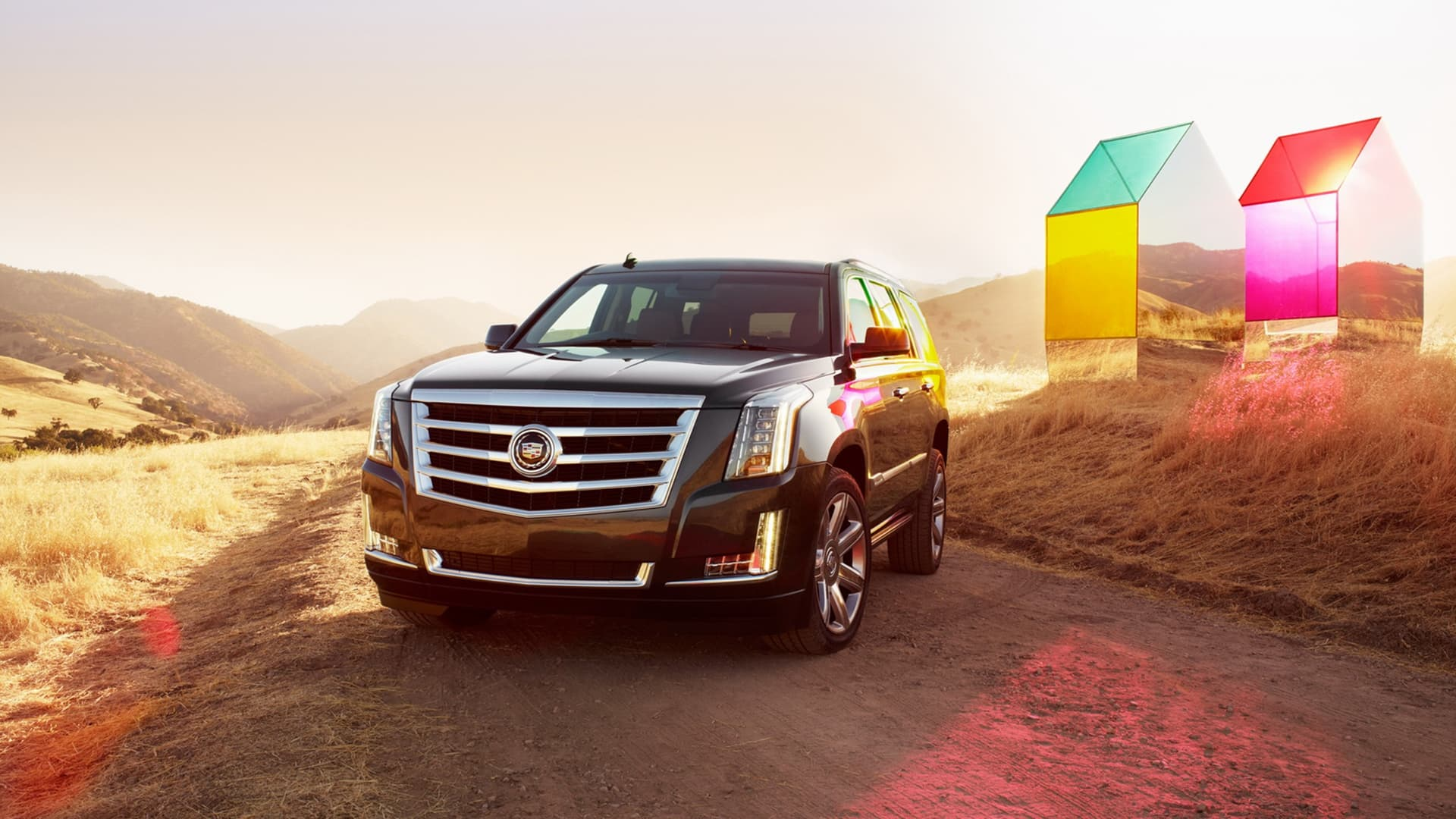 2016 Cadillac escalade front picture