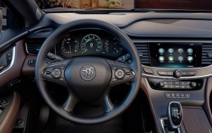 2017 Buick LaCrosse steering wheel