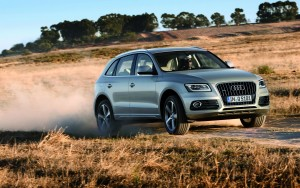 silver Audi Q5 High Resolution wallpaper
