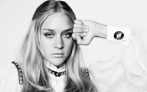 Chloe Sevigny black and white High Resolution wallpaper
