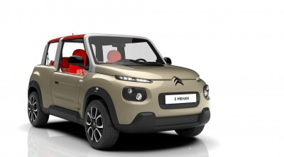 Citroen E-Mehari 2016 green HD photo