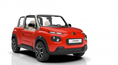 Citroen E-Mehari 2016 red new 2016 picture