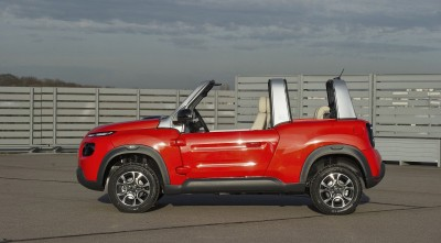 Citroen E-Mehari 2016 side HD image