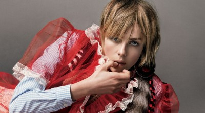 Edie Campbell for Desktop
