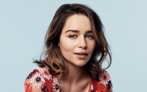 cute Emilia Clarke HD wallpaper