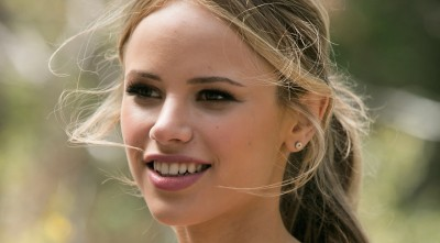 Halston Sage HD Background