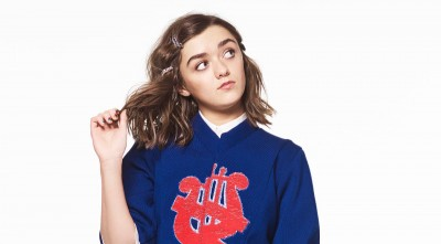 Maisie Williams High Definition white wallpaper