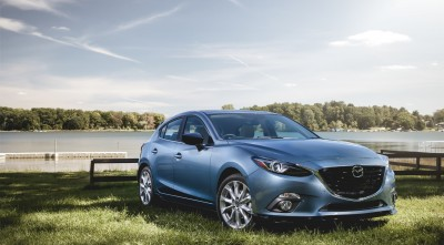 Mazda 3 2016 Hatchback blue