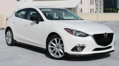 Mazda 3 2016 Hatchback white