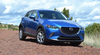 Mazda CX 3 2016 blue image HD