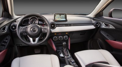 Wallpaper Mazda CX 3 2016 interior 1080p