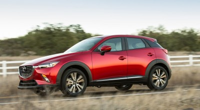 motion Mazda CX 3 2016 High Resolution wallpaper