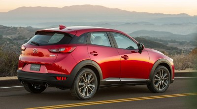 Mazda CX 3 2016 rear HD photo