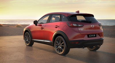 HD Mazda CX 3 2016 side rear pics, photos
