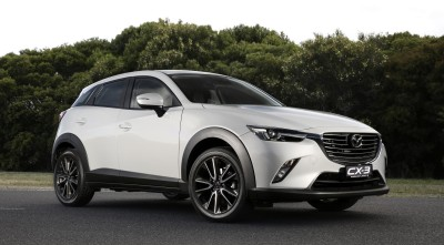 Mazda CX 3 2016 white for Desktop
