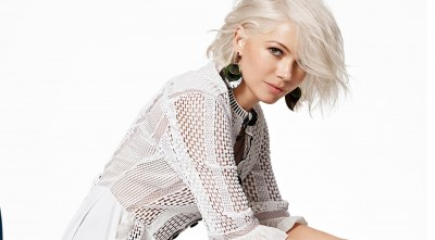 Michelle Williams white background