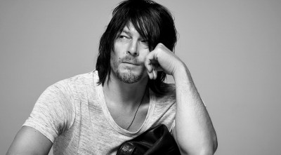 hairstyle Norman Reedus black and white