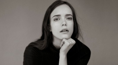 Stacy Martin black and white wallpaper