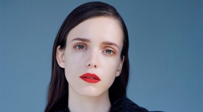 Stacy Martin makeup pic