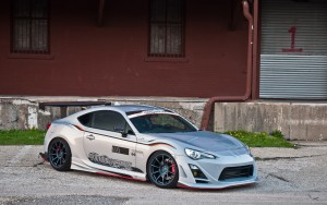 Toyota 86 silver