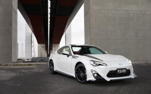 white Toyota 86 for Desktop