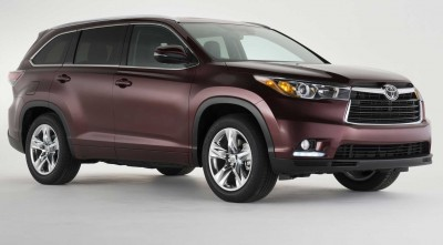 Toyota Highlander 2016 HD wallpaper