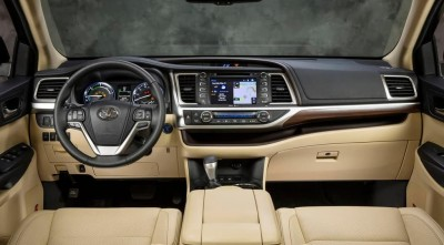 Toyota Highlander 2016 interior
