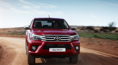 Toyota Hilux 2016 HD wallpaper