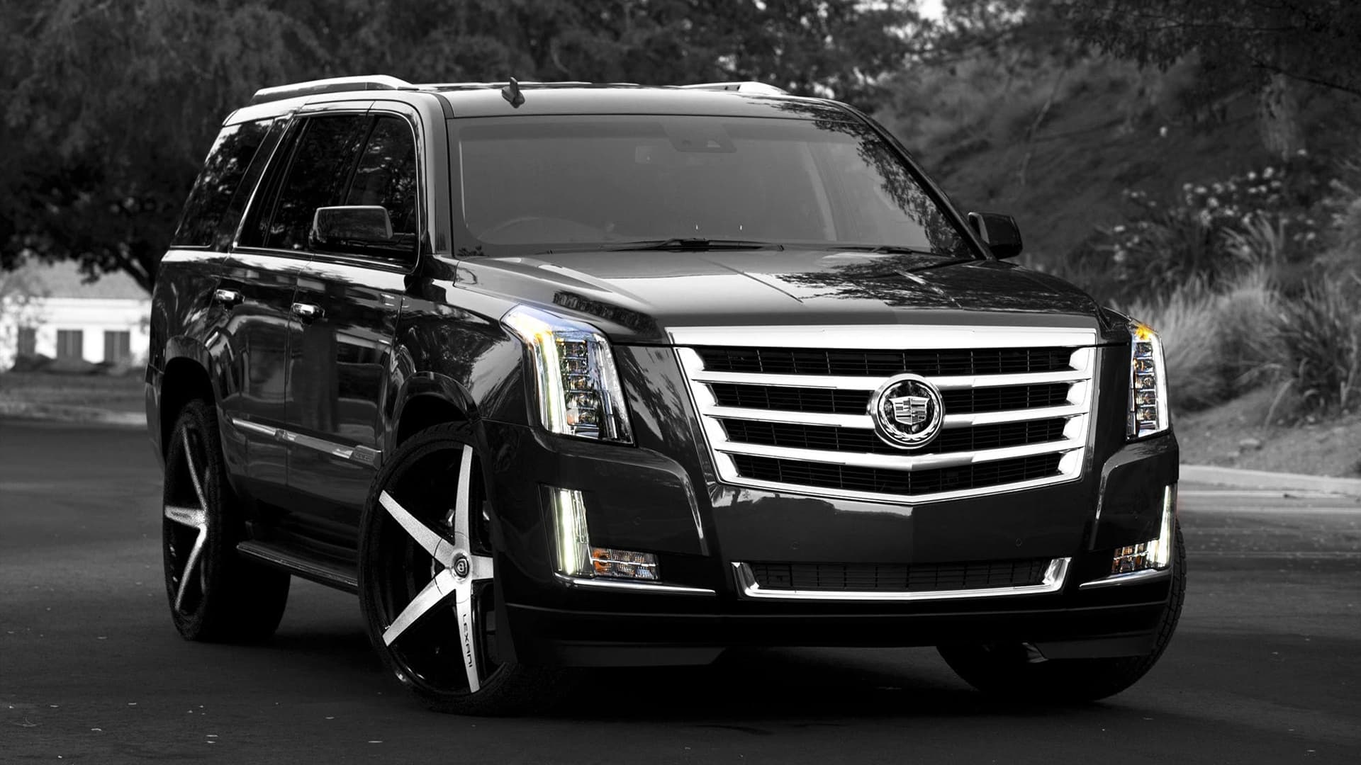 20 cadillac escalade wallpapers hd. Black Bedroom Furniture Sets. Home Design Ideas