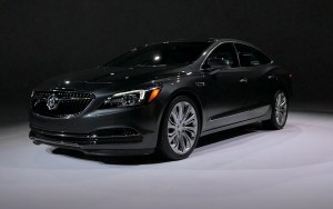 black 2017 Buick LaCrosse High Resolution wallpaper