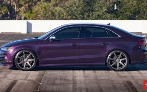 blue 2016 Audi S3 sedan High Quality