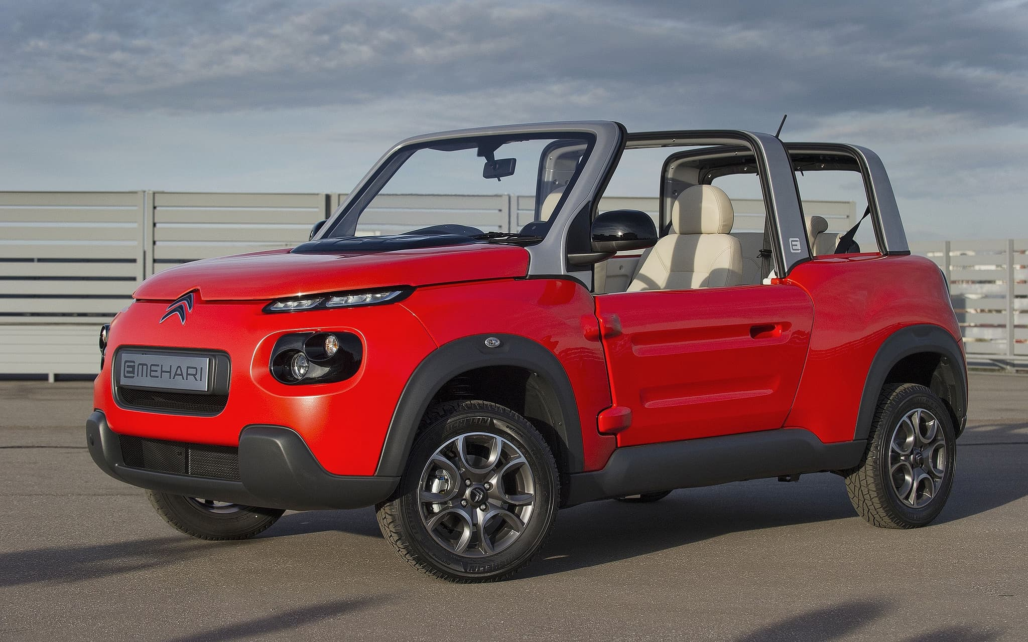 Citroen E-Mehari 2016 wallpapers