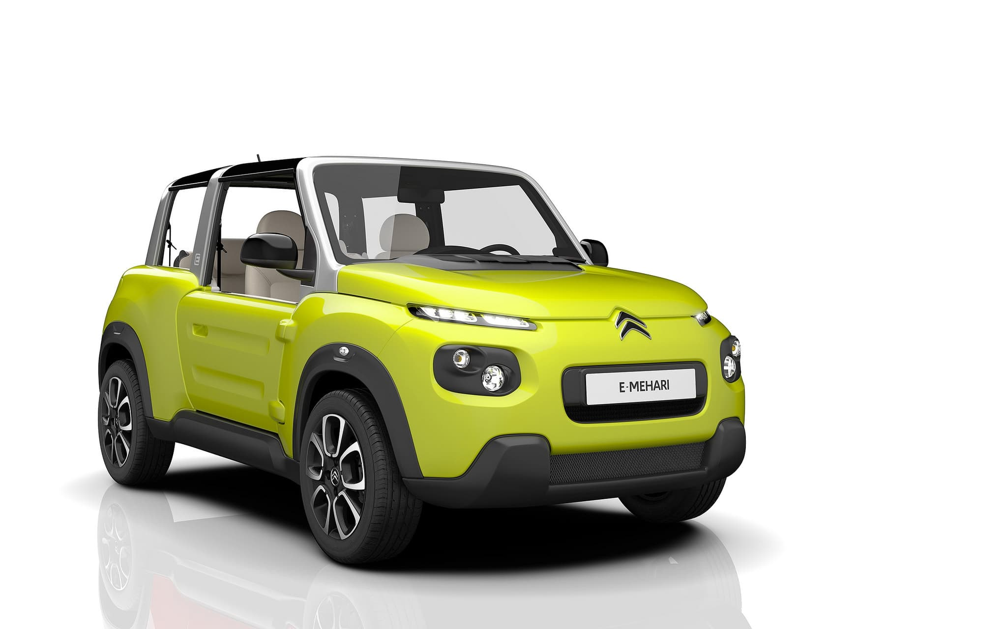 Citroen E-Mehari 2016 yellow Download, pictures