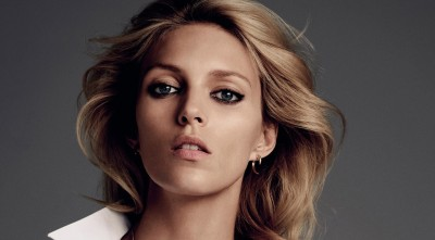 Picture of eyes Anja Rubik Desktop