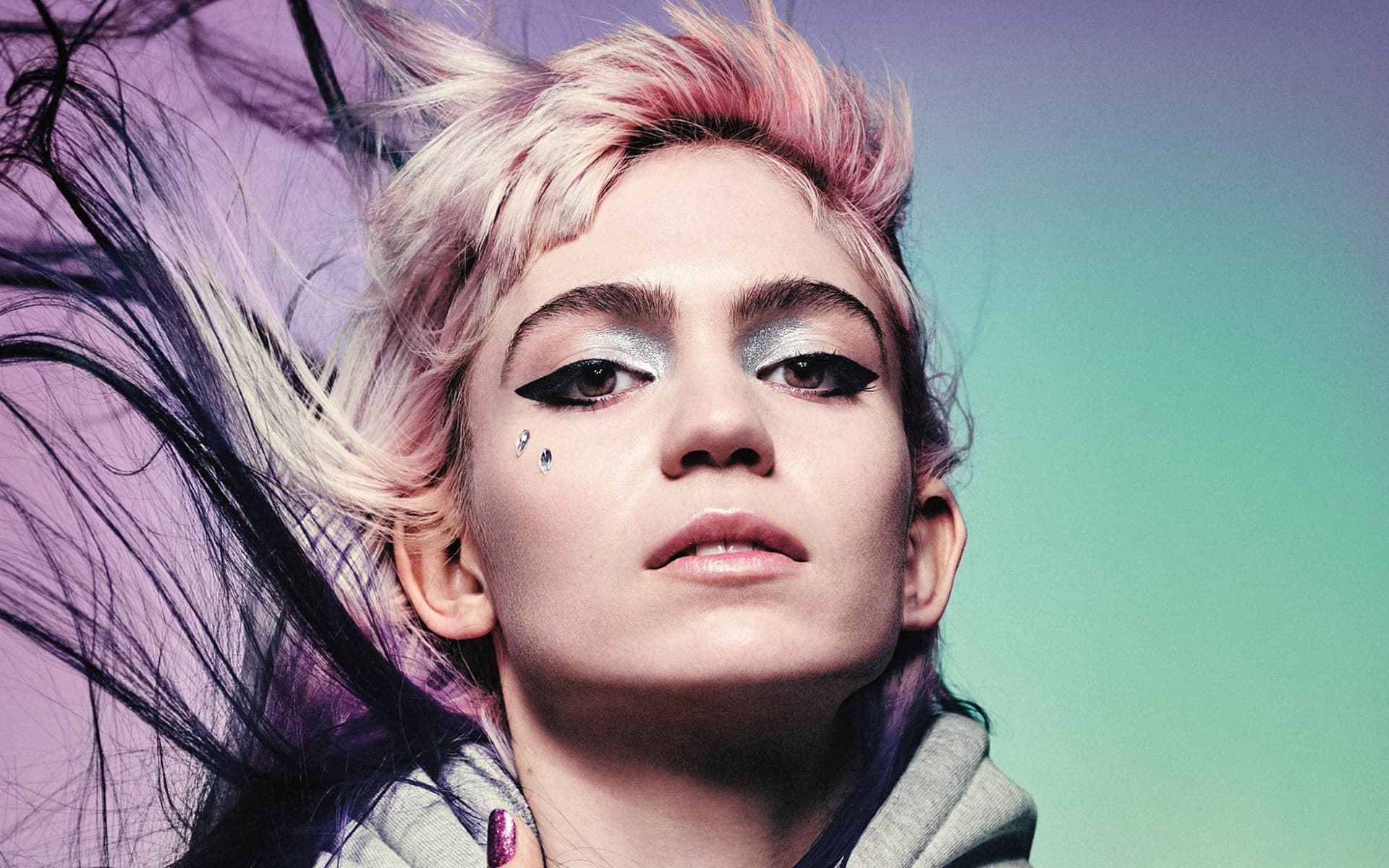Grimes HD wallpaper for PC