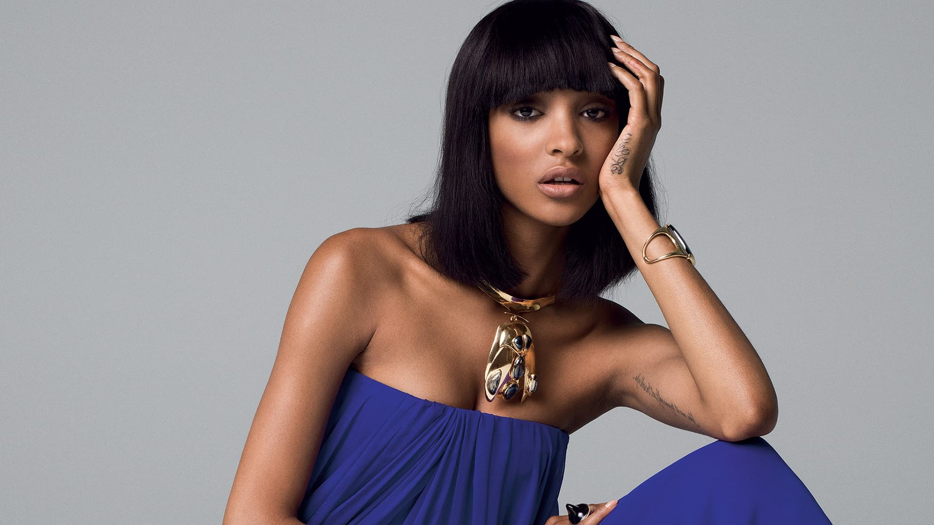 Jourdan Dunn fashion HD Pics, haircut