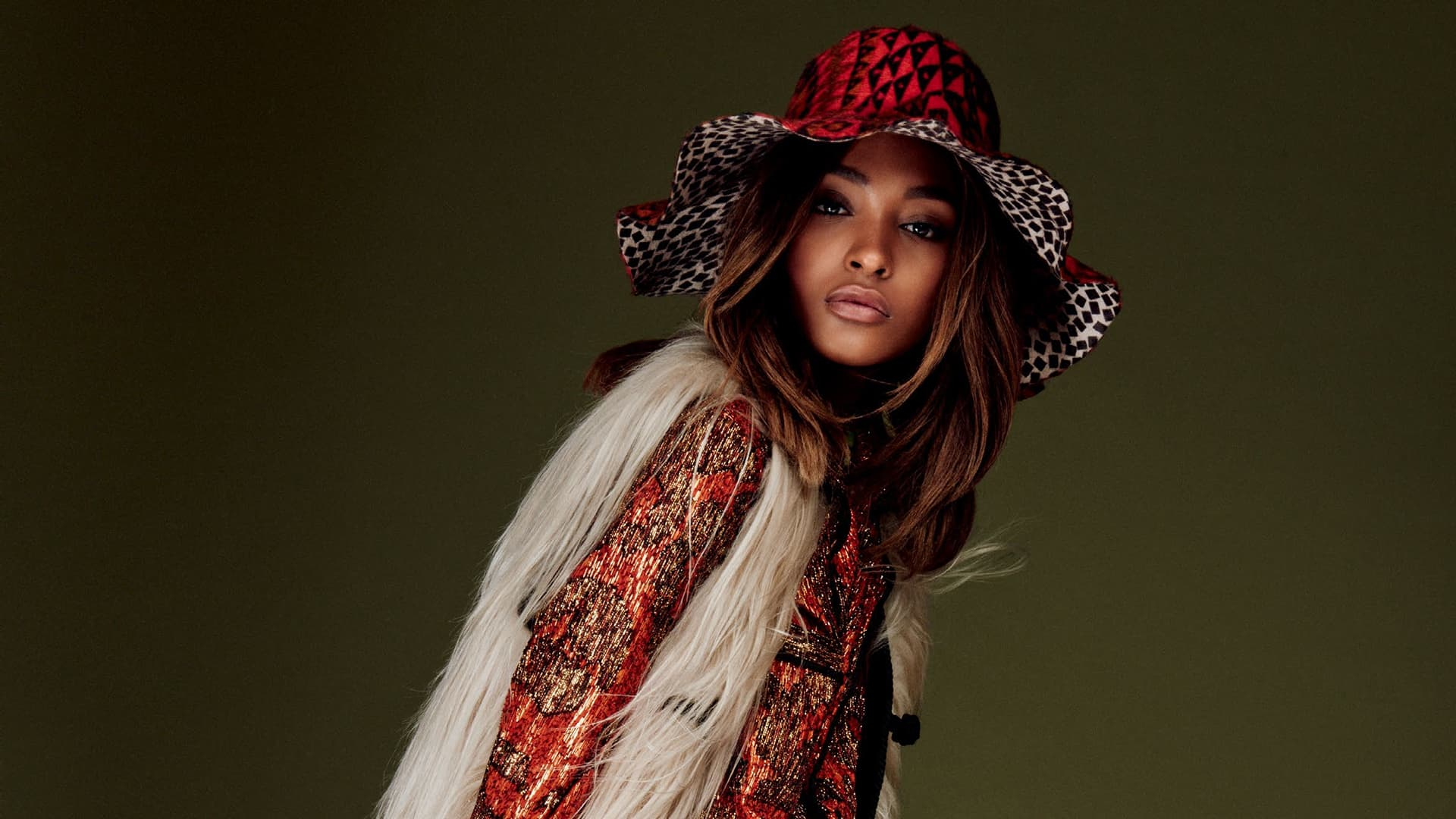 Jourdan Dunn Full HD background